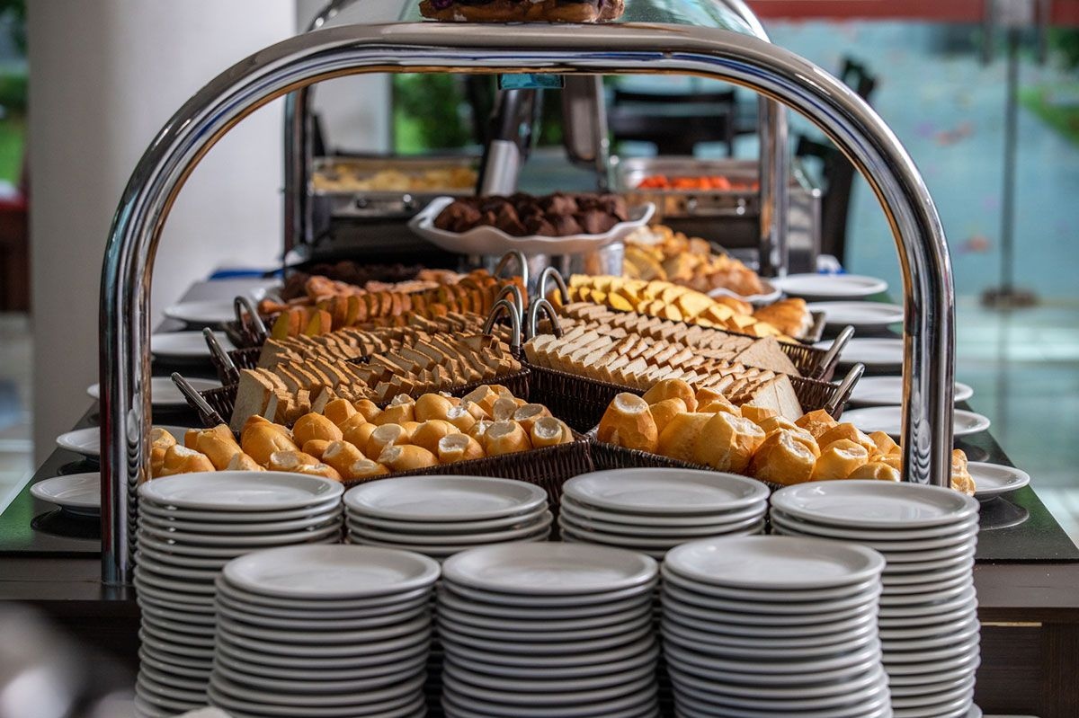 Buffet de pães
