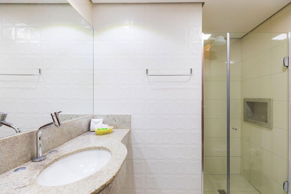Banheiro da suíte luxo tripla