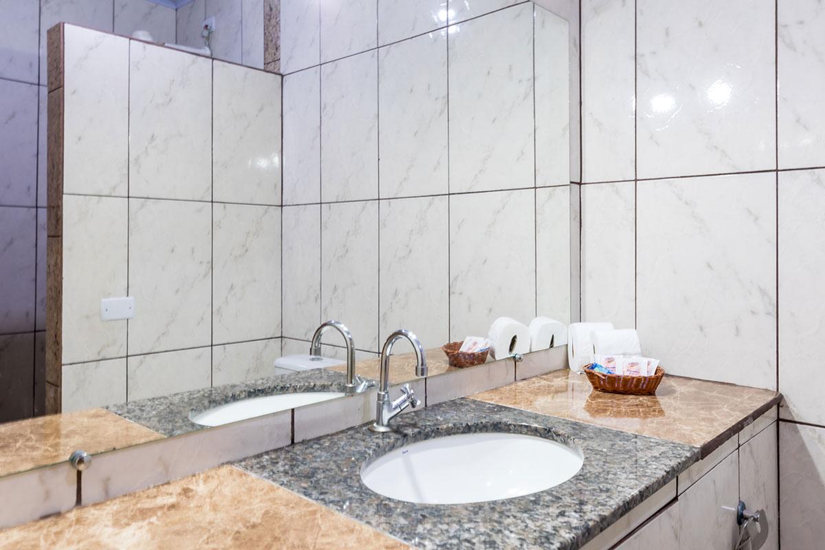 Banheiro para suítes standard